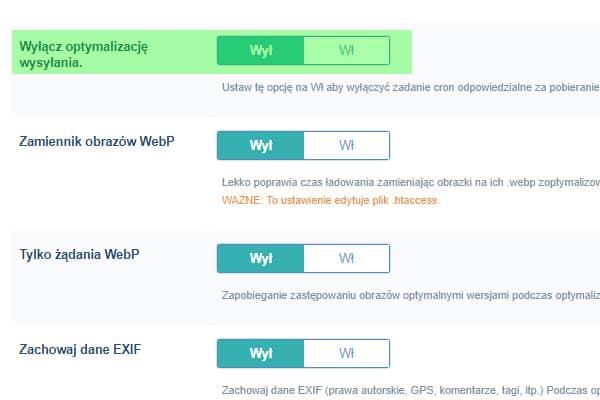 optymalizacja zdjec wordpress
