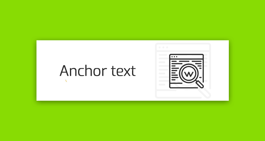 anchor text