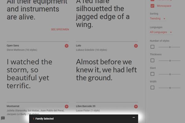 pobieranie google fonts - krok 4