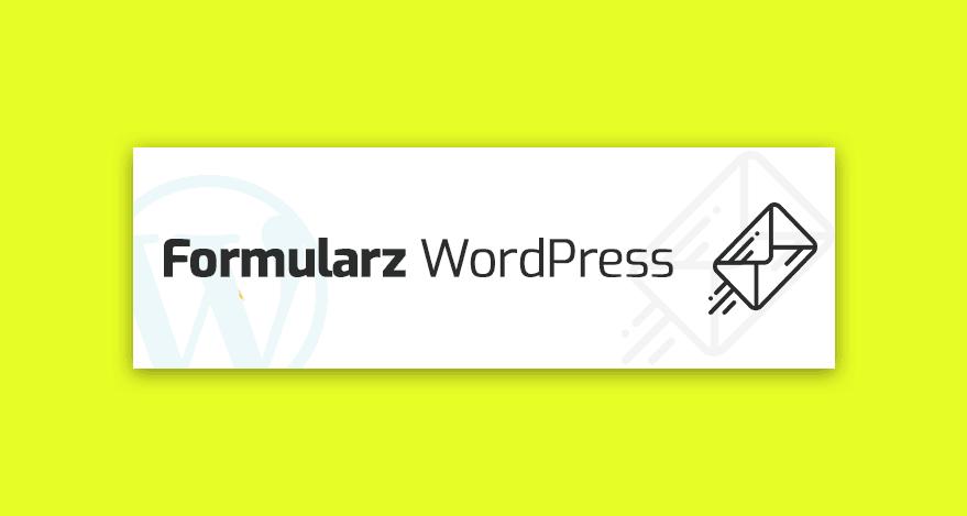 formularz kontaktowy WordPress