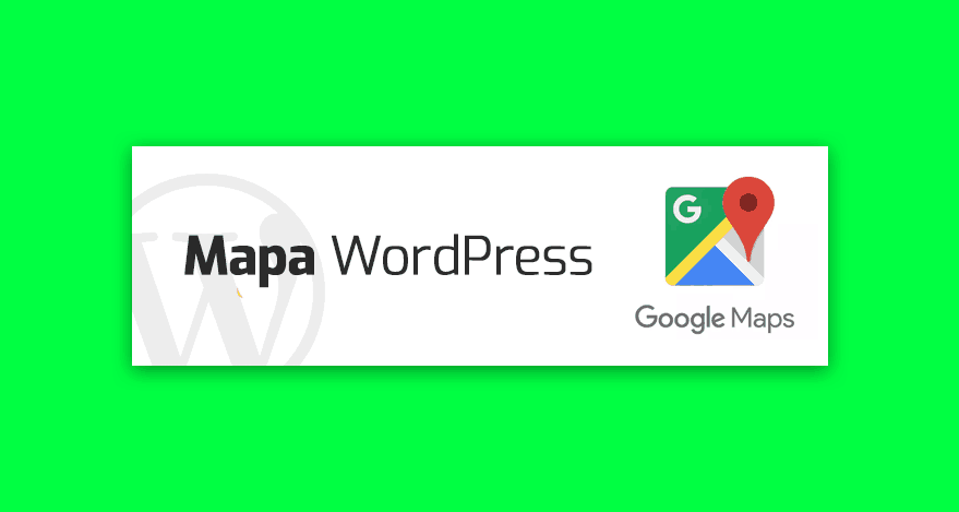 mapa google wordpress
