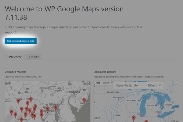 sposob 1 - ustaw plugin google maps