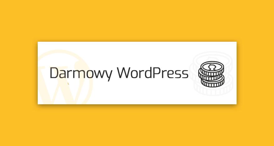 darmowy wordpress
