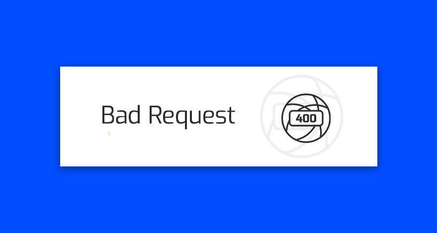 blad http 400 (bad request)