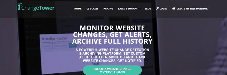 monitorowanie - program changetower