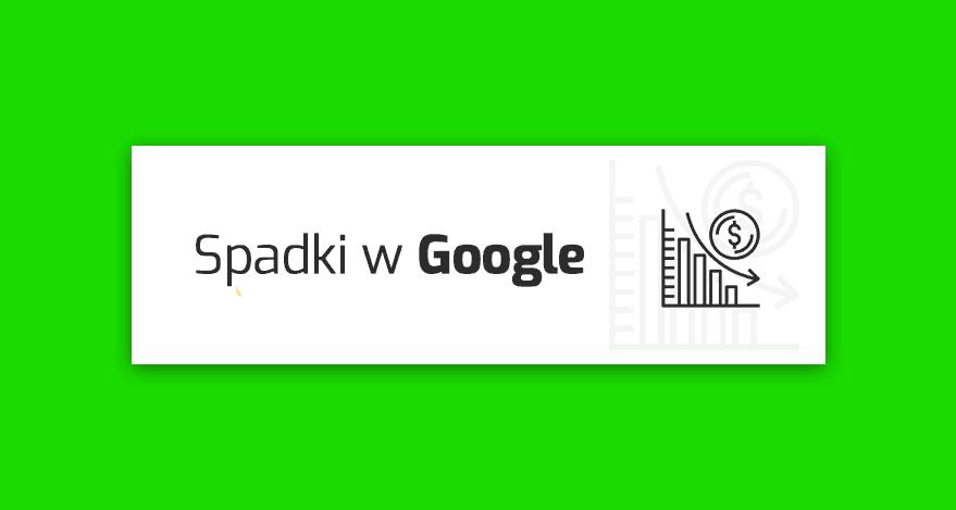 spadki pozycji w Google