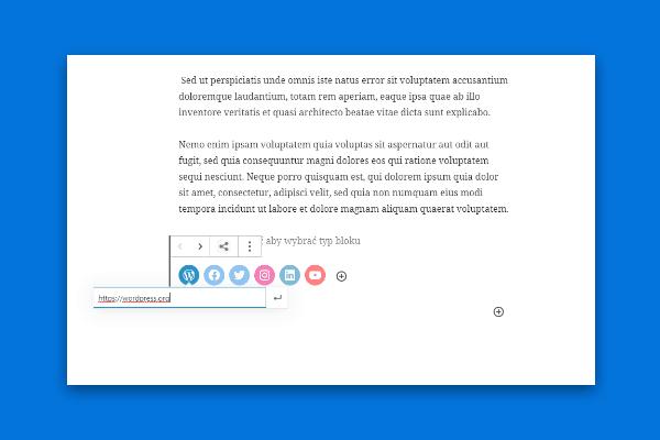 WordPress 5.4 - bloki spolecznosciowe