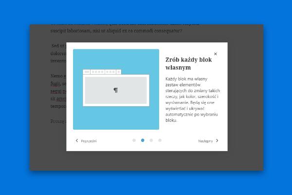 WordPress 5.4 - poradnik powitalny