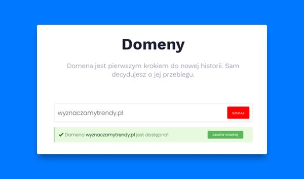 domena na hostingu