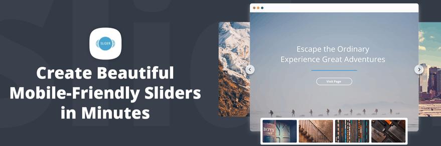 slider by 10web - wordpress