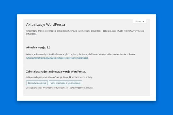automatyczne aktualizacje w wordpress 5.6