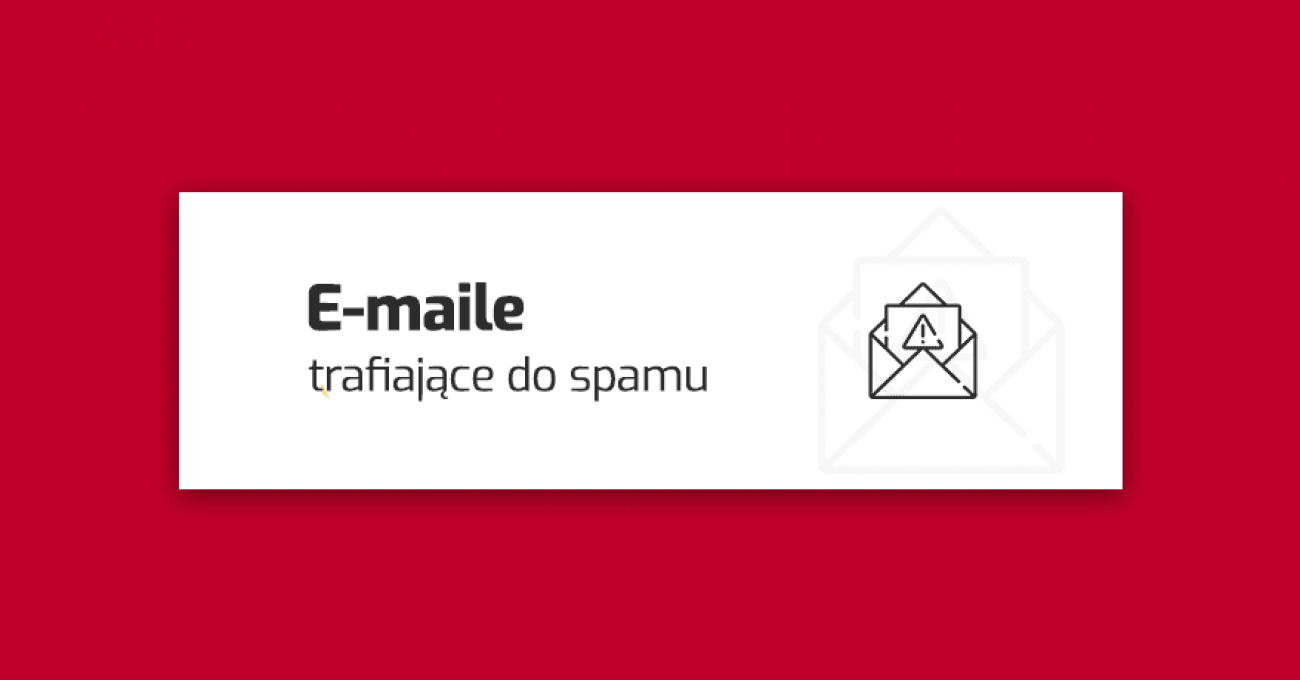 e-maile trafiające do spamu