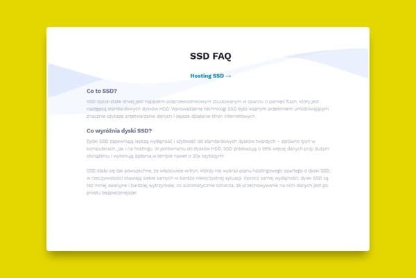 sekcja faq na stronie wordpress