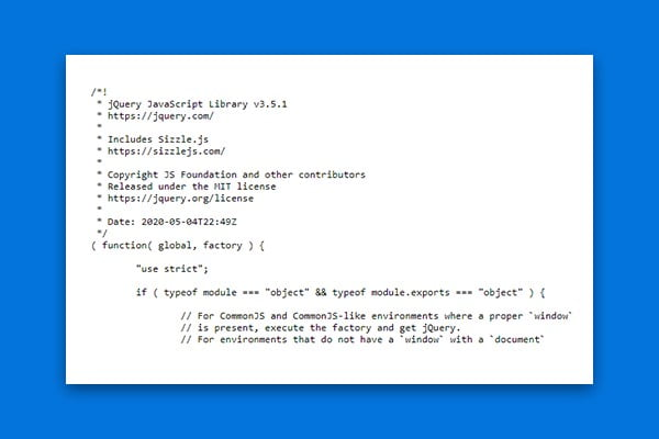 aktualizacja jquery - wordpress 5.7