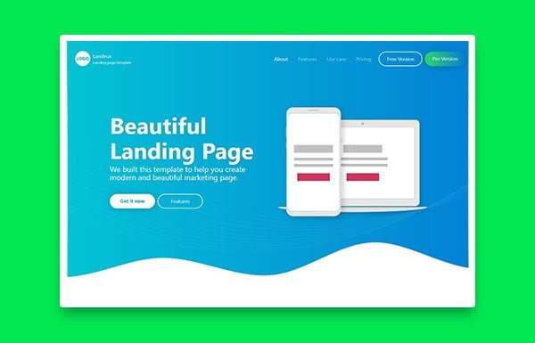 landing page - co to jest