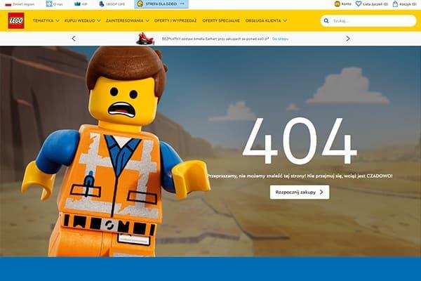strona 404 - lego