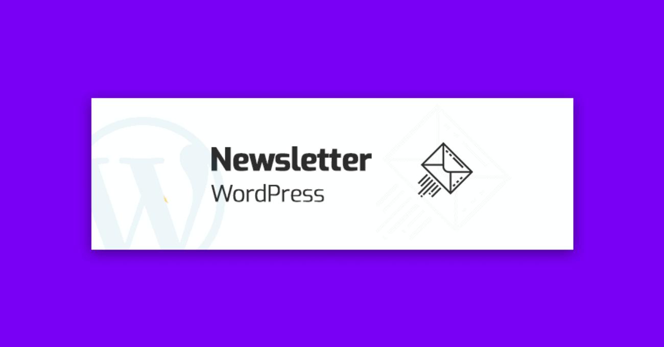 newsletter wordpress